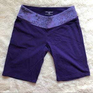 Tuff Athletics Purple Workout Shorts Size XS